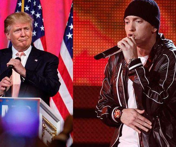 Eminem Dumps Trump at BET Awards