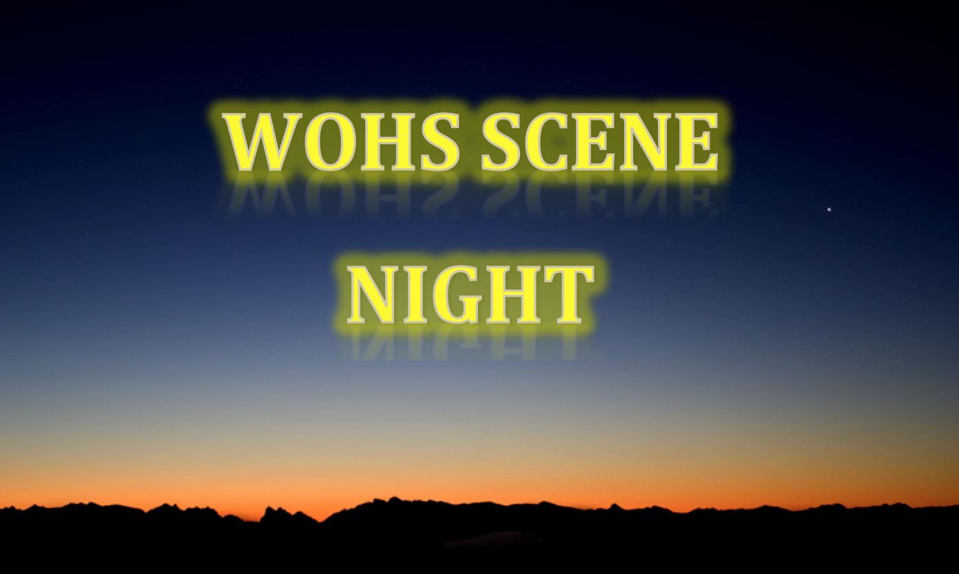 WOHS Scene Night
