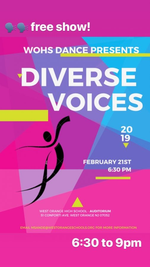 WOHS Dance Presents: Diverse Voices
