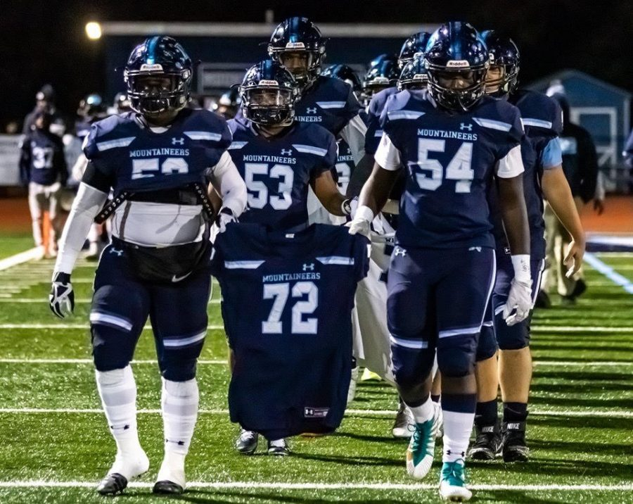Senior Night: The Mountaineers Win Big Over Barringer, 52-21, for the Verducci Brothers
