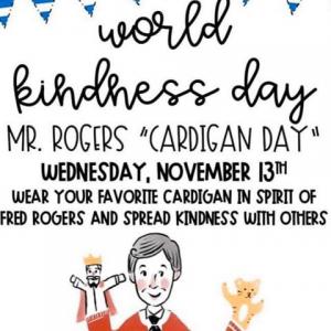 Celebrate World Kindness Day on November 13