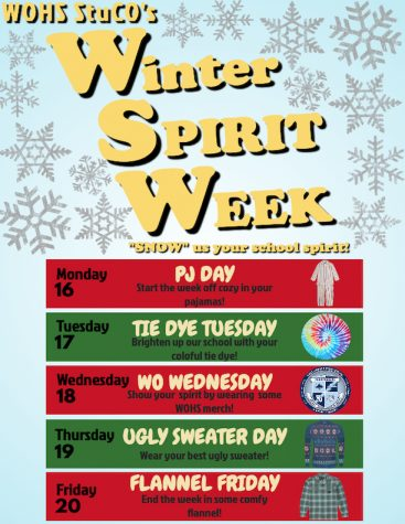 Spirit Week Schedule