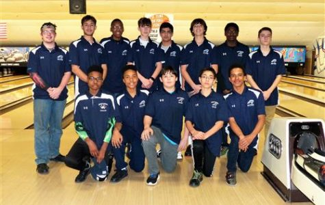 The WOHS bowling team last year at one of their tournaments.