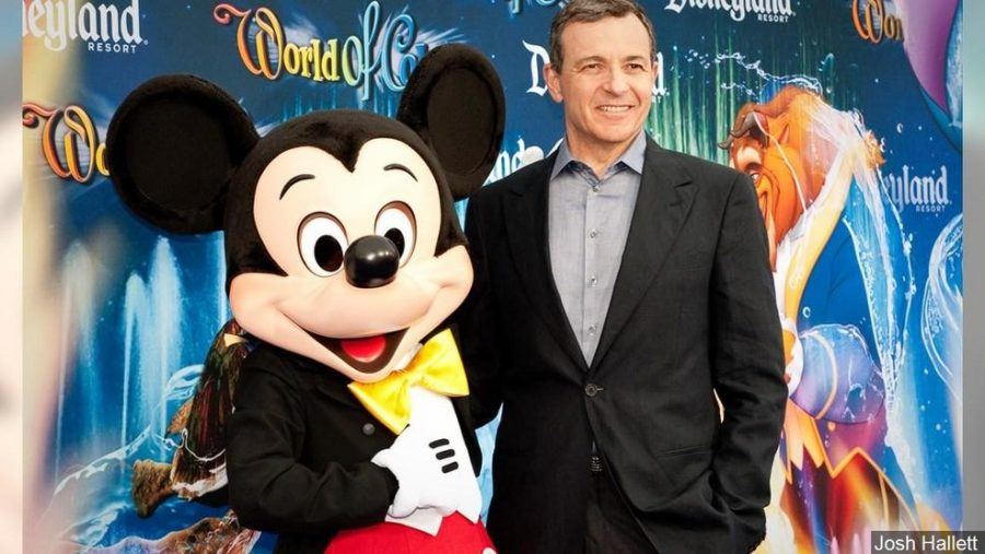 Bob Iger Steps Down as CEO of Disney