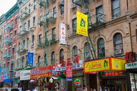 Chinatown Restaurants in Manhattan.