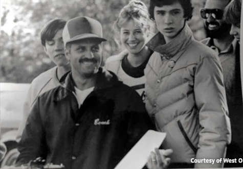 Joe Suriano in 1971 coaching at WOHS.