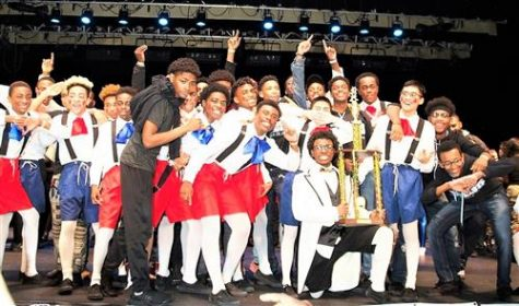 The WOHS Boys Step Team are 2019 Regional Champions. Photo: Youth Step USA