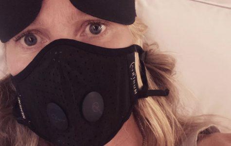 Gwyneth Paltrow's face mask selfie