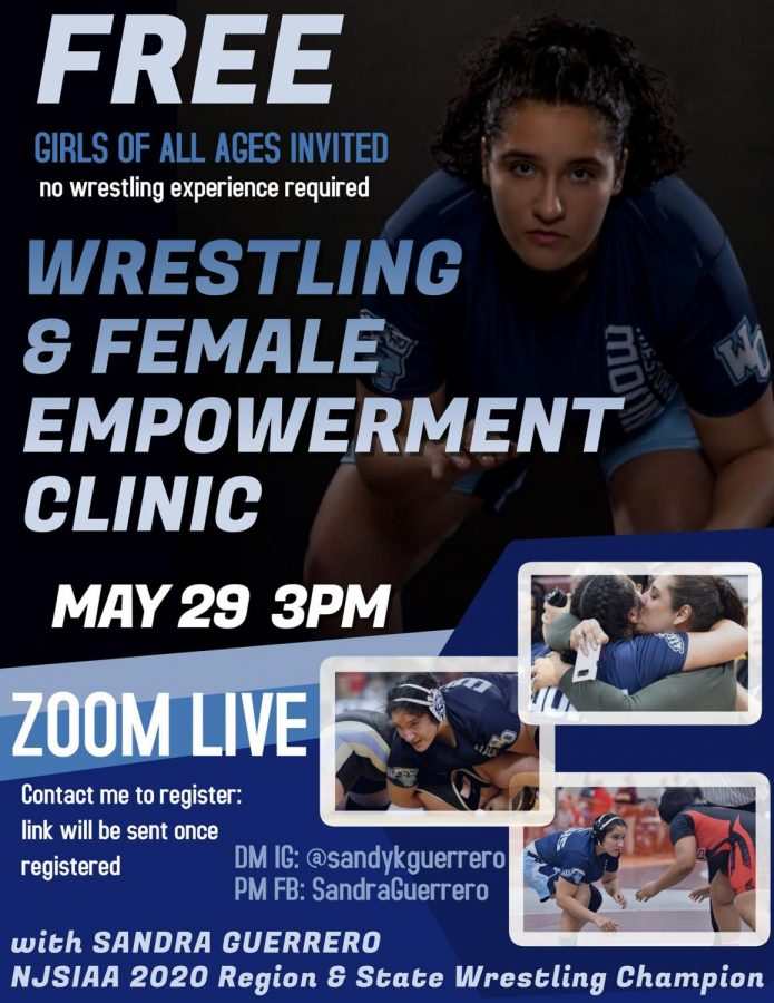 Sandra+Guerrero+To+Hold+a+Free+Wrestling+Clinic+Via+Zoom+on+May+29