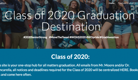 Graduation Destination: The New Website for All Things 2020 Graduation