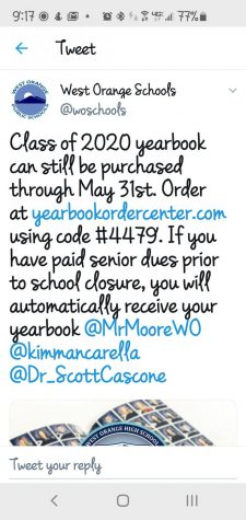 Class of 2020 Yearbooks