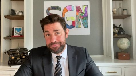 John Krasinski hosts Some Good News (SGN)
