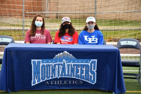 WOHS Soccer Stars Celebrate Signing Day