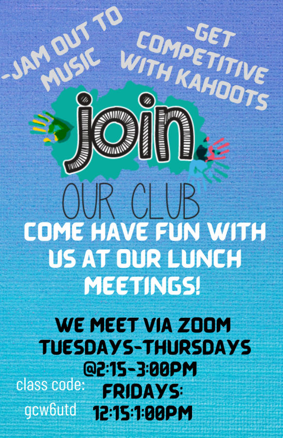 Join the Lunchtime Mentors Club!
