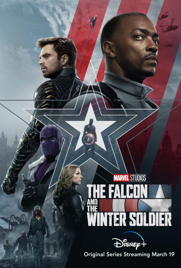 Official Poster for The Falcon and The Winter Soldier