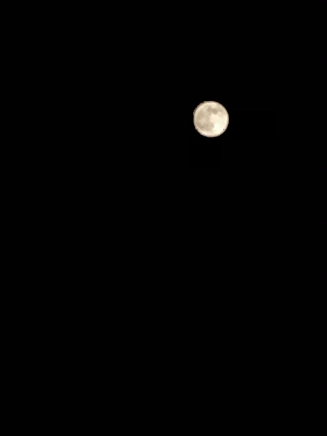 Supermoon shot at 11:32 p.m. on April 26th, 2021