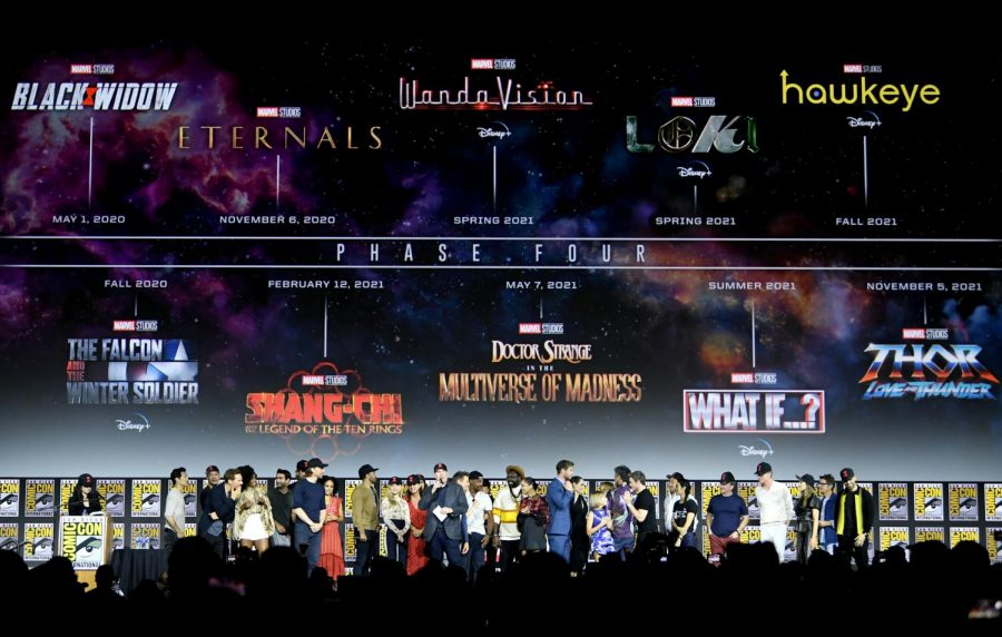 Marvel Phase Four New Announcement